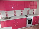 Розовая кухня ViAnt на заказ любой формы Киев и область, фото 2