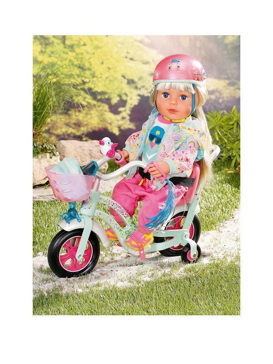 Велосипед для куклы Baby Born Zapf Play & Fun 827208