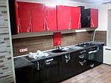 Розовая кухня ViAnt на заказ любой формы Киев и область, фото 7