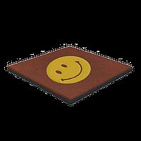 Гумова плитка з логотипом 30 мм
