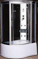 Гидромассажный бокс 120х80 Vivia правый, глубокий поддон, тонированное стекло