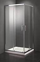 Душевая кабина 90х90 Vivia без поддона, прозрачное стекло 6мм