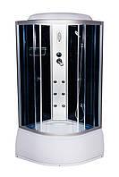 Гидробокс 90х90 Vivia ECO 95 R CH / VA 95 R глубокий поддон, тонированное стекло