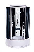 Гидробокс 90х90 Vivia ECO 265 CH / VA 265 глубокий поддон, тонированное стекло