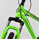 """Спортивный велосипед зеленый CORSO Strange 24 дюймов 21 скорость алюминиевая рама 13"""" детям от 8 лет, фото 7"""