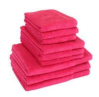 """Полотенце (70х140 см) махровое банное розовое """"STYLE 500"""" микрокотон, 100% хлопок, фото 1"""