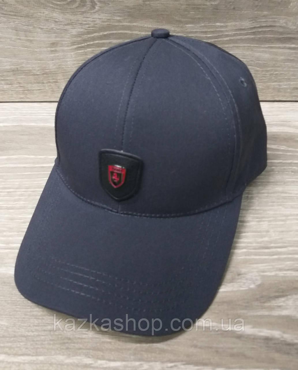 Мужская  бейсболка, кепка, со вставкой, размер 56-58, на регуляторе