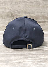 Мужская  бейсболка, кепка, со вставкой, размер 56-58, на регуляторе, фото 3