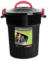 Контейнер для хранения угля и аксессуаров Grill 25 л