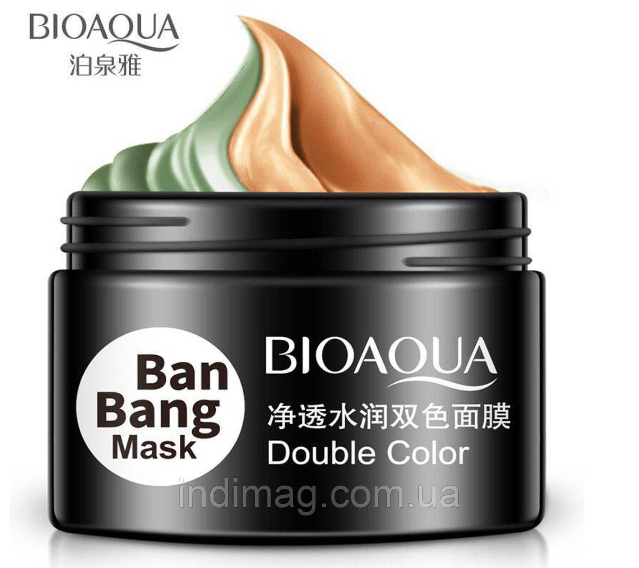 Маска глиняная двухцветная Ban Bang Bioaqua