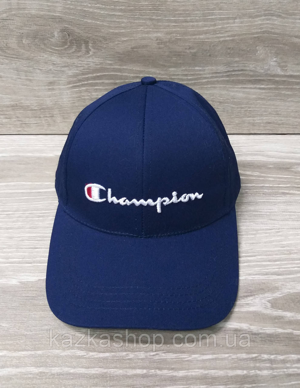 Мужская бейсболка, кепка, материал коттон, вышивка в стиле Champion (реплика), размер 56-58, на регуляторе