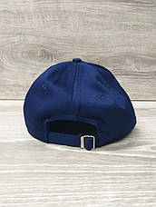 Мужская бейсболка, кепка, материал коттон, вышивка в стиле Champion (реплика), размер 56-58, на регуляторе, фото 3
