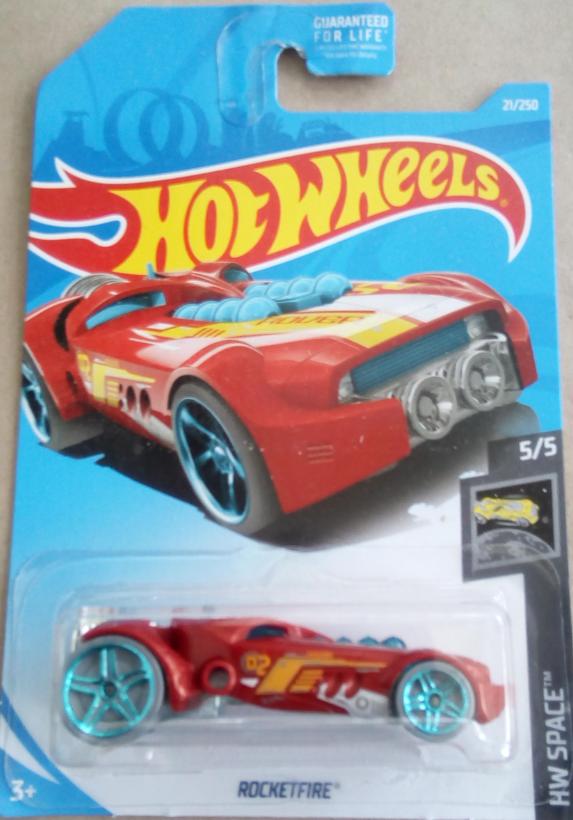 Машинка Hot Wheels 2019 RocketFire