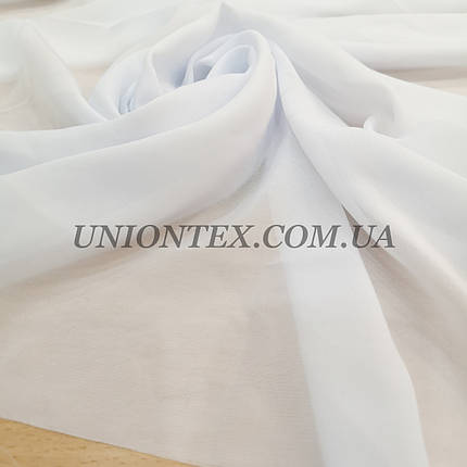 Ткань шифон белый, фото 2