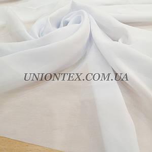 Ткань шифон белый