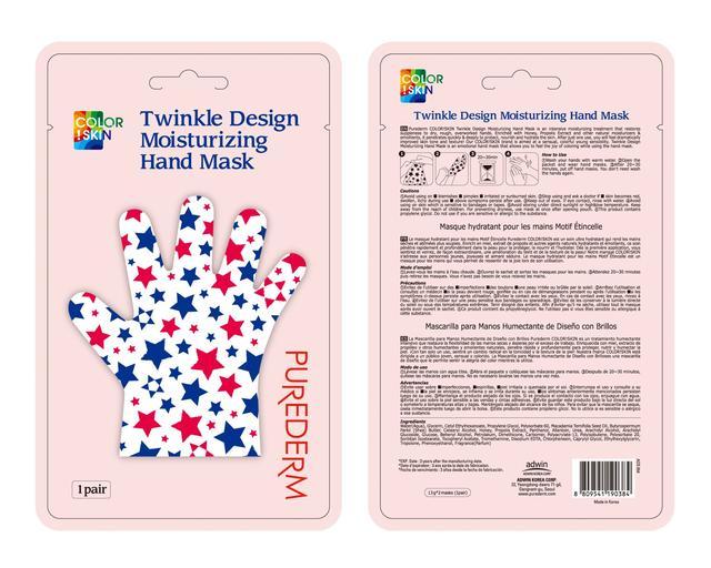 Purederm Twinkle Design Moisturizing Hand Mask