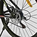 Спортивный велосипед черный с желтым CORSO DRAGON 26 дюймов 21 скорость алюминиевая рама 17дюймов, фото 8