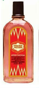 Одеколон чоловічий Красная Москва - душиста вода 80 мл. в асортименті