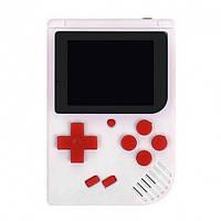 Портативна ігрова ретро приставка 400 ігор dendy денді SEGA 8bit SUP Game Box біла