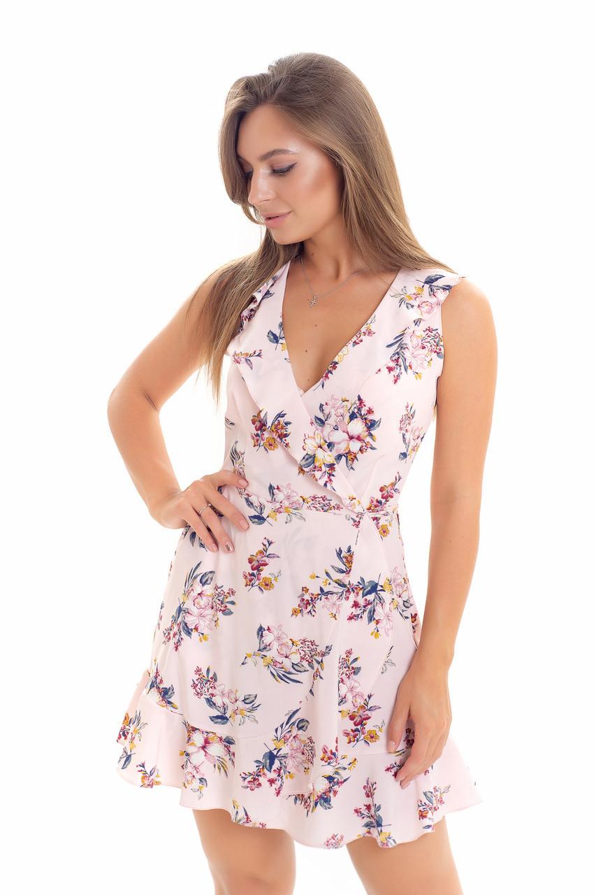 Платье K&ML 523 розовый 46