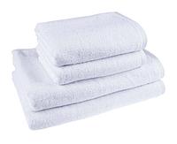 """Полотенце (50х90 см) белое махровое """"Отель"""" для лица и рук"""