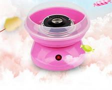 Аппарат для приготовления сладкой сахарной ваты в домашних условиях Candy Maker розовый