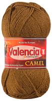 Пряжа для вязания Valencia Camel (100% верблюжья шерсть: 100гр; 174м. Испания)
