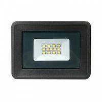 Светодиодный Led Прожектор AVT 10W 220V 6500K IP65 AVT5-IC (матрица с IC-драйвером, пластиковый корпус)