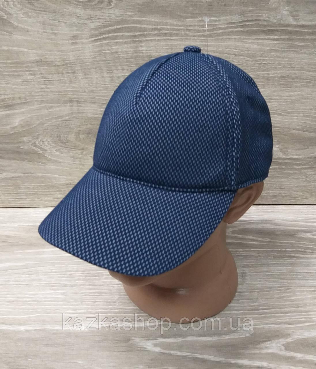 Мужская бейсболка, кепка, материал лакоста, без вышивки и вставок, размер 57-58, на регуляторе