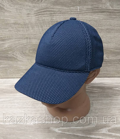 Мужская бейсболка, кепка, материал лакоста, без вышивки и вставок, размер 57-58, на регуляторе, фото 2