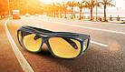 Очки водительские HD Vision,антифары, антибликовые, комплект 2 штуки День/Ночь, фото 7