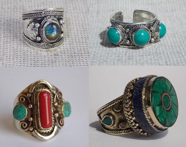 Кольца из Индии, Непала, и других стран востока