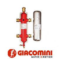 """Гидравлический сепаратор, комплект изоляции 1""""1/2"""" Giacomini"""