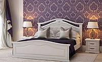 Кровать двуспальная Маргарита 160-200 см (белая)