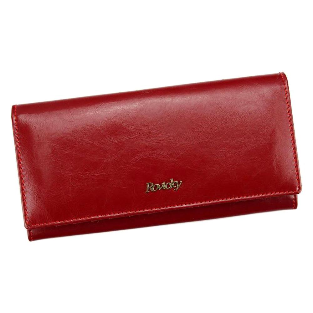 Женский кожаный кошелек Rovicky 8805-BPR Red