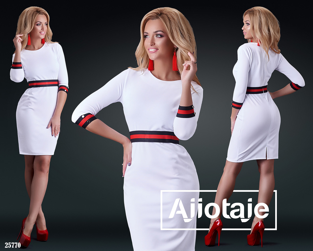 Красивое женское платье, норма р.S, M, L. Ajiotaje