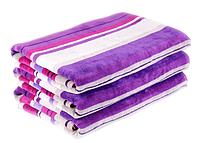 Набор из 2 велюровых полотенец (40х60 см) в подарочной упаковке.
