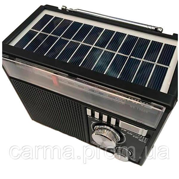 Радиоприемник NNS 1360S Solar Черный