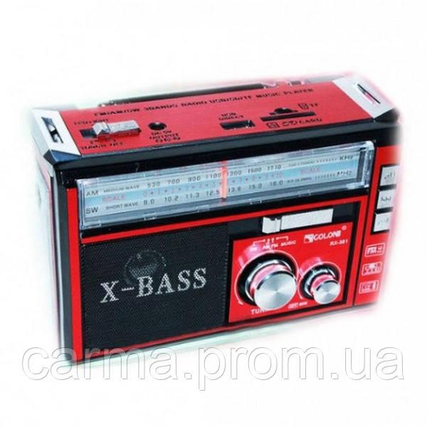Радиоприемник GOLON RX-382 Красный