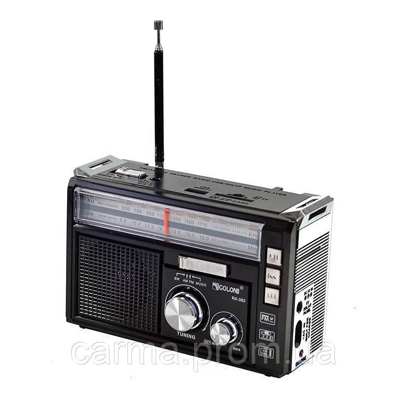 Радиоприемник GOLON RX-382 Черный