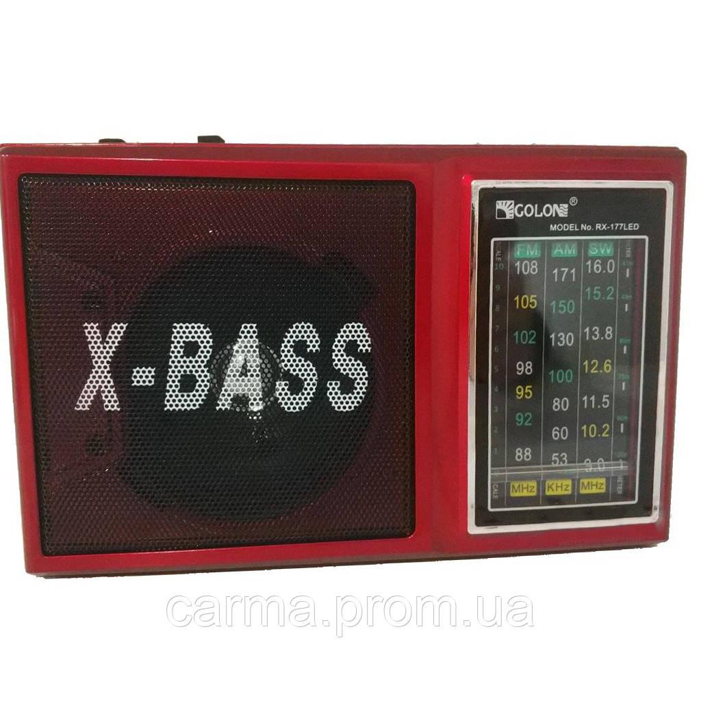 Радиоприемник GOLON RX-177 Красный