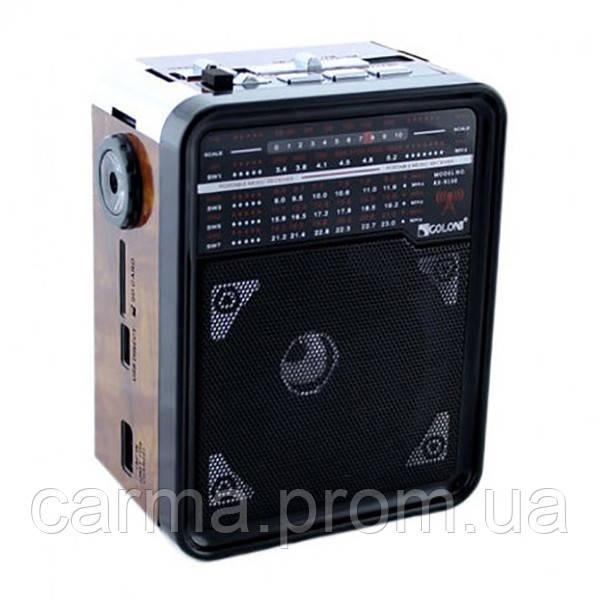 Радиоприемник GOLON RX-9100 Коричневый