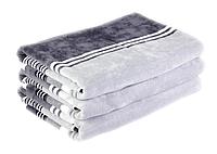 Набор из 2 велюровых полотенец (40х60 см) в подарочной упаковке., фото 1