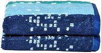 Набор из 2 махровых жаккардовых полотенец (40х60 см) в подарочной упаковке, фото 1