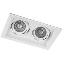 Карданный светильник DLT202 белый поворотный