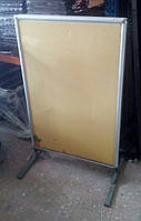 Штендер двухсторонний Т-образный с клик системой 119*80 см б/у формат А0