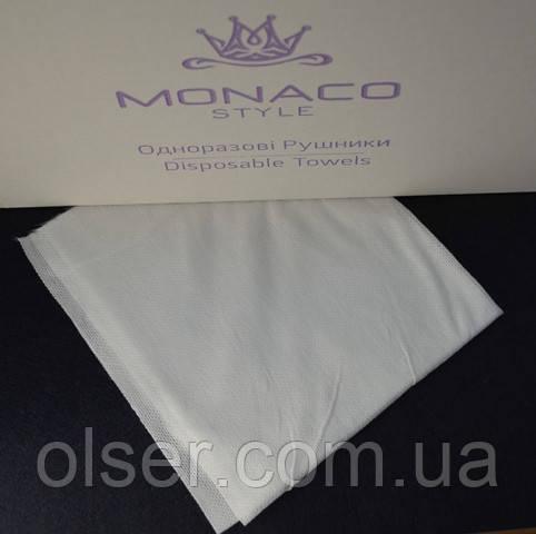 Одноразовые полотенца нарезные Monaco Style, 40*70 мм, 50 гр/м2, 100 шт.