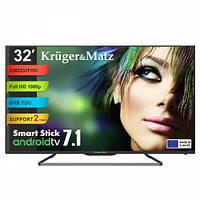 """Телевизор 32"""" Kruger&Matz (KM0232FHD) Smart Stick"""