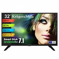 "Телевизор 32"" Kruger&Matz (KM0232T) Smart Stick"