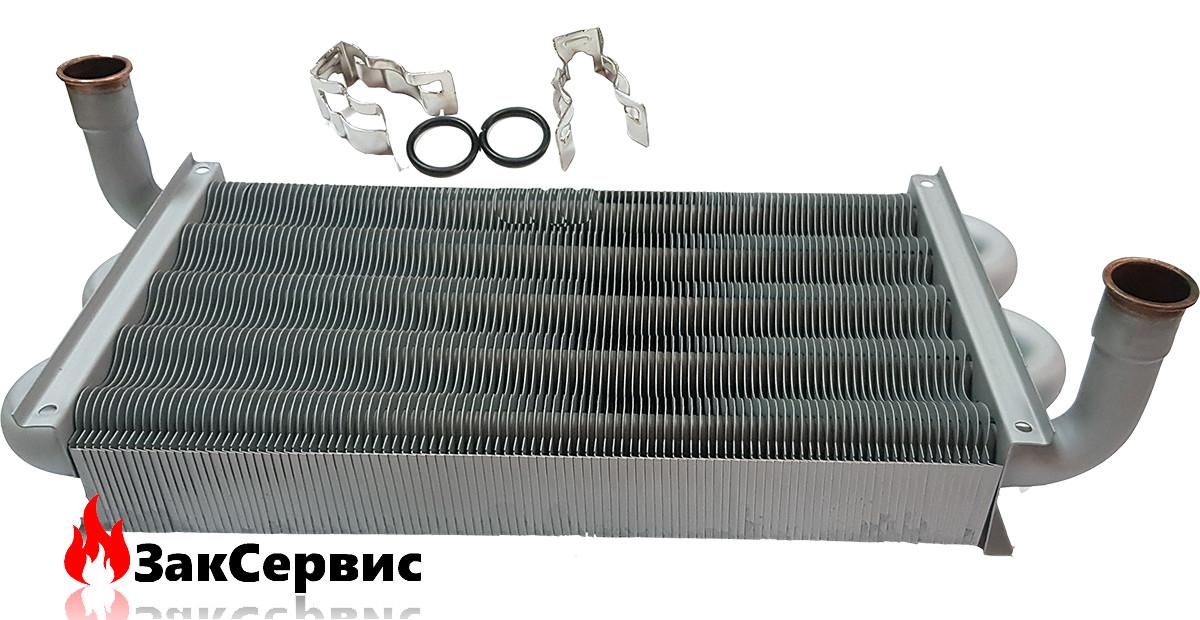 Первичнй (основной) Главный теплообменник на газовый котел Ariston CLAS, Genus 32/35 кВт 65105041